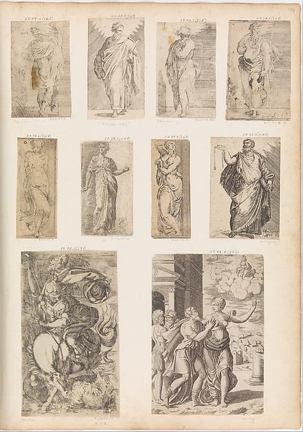 St. James Major, Angiolo Falconetto (Italian, active ca. 1555–67), Etching