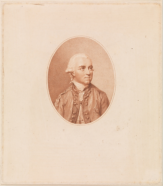 Sir Henry Clinton, Francesco Bartolozzi (Italian, Florence 1728–1815 Lisbon), Stipple engraving and etching; first state, before letters