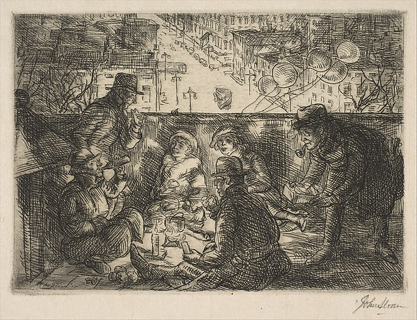 Arch Conspirators, John Sloan (American, Lock Haven, Pennsylvania 1871–1951 Hanover, New Hampshire), Etching