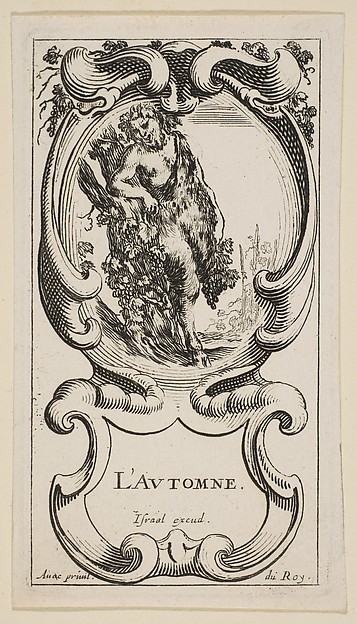 Fall (L'Automne), from 'The Four Seasons', Etched by Stefano della Bella (Italian, Florence 1610–1664 Florence), Etching