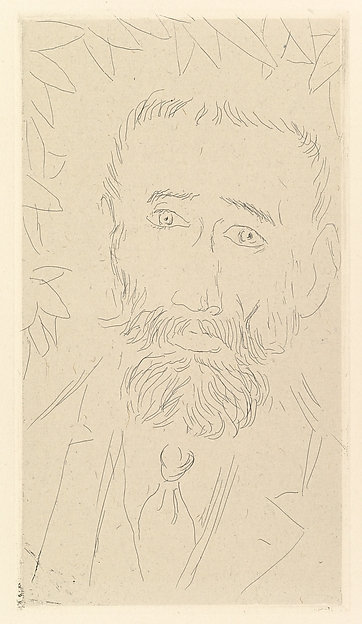 Iturrino, Henri Matisse (French, Le Cateau-Cambrésis 1869–1954 Nice), Etching on chine collé