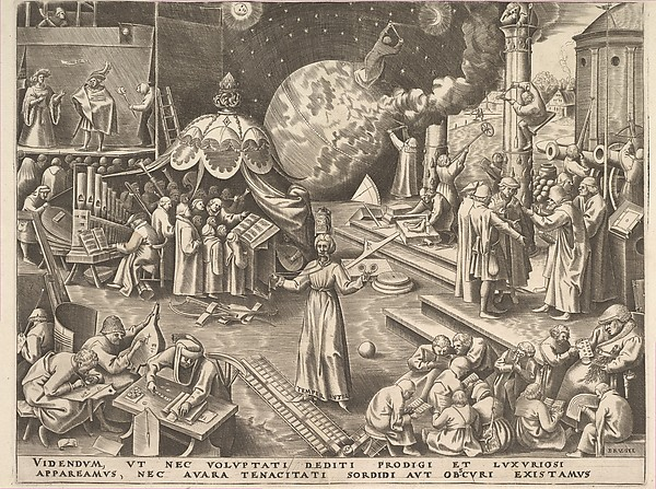 Temperance (Temperantia) from The Virtues, Philips Galle (Netherlandish, Haarlem 1537–1612 Antwerp), Engraving; first state of two