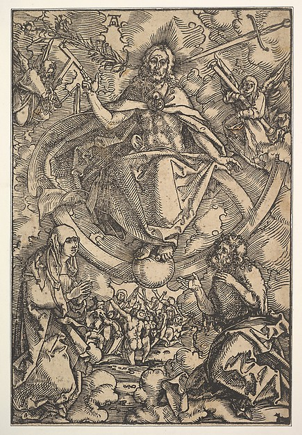 The Last Judgment, Hans Baldung (called Hans Baldung Grien) (German, Schwäbisch Gmünd (?) 1484/85–1545 Strasbourg (Strassburg)), Woodcut; second of two states