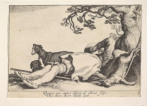 Pleasures of Occupation, Cornelis Bloemaert (Dutch, Utrecht 1603–?1684 Rome), Etching and engraving