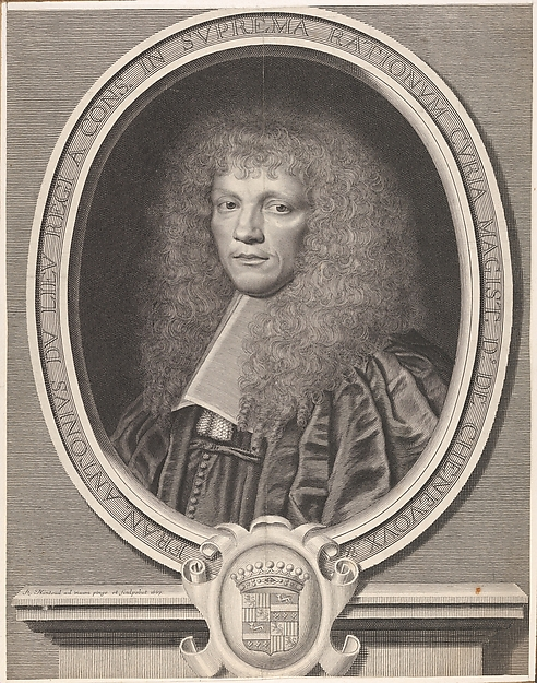 François-Antoine Dulieu, Robert Nanteuil (French, Reims 1623–1678 Paris), Engraving; first state of two (Petitjean & Wickert)