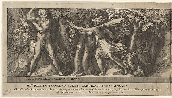 Cherubino Alberti Zaccaria Mattia Perseus Changing Atlas