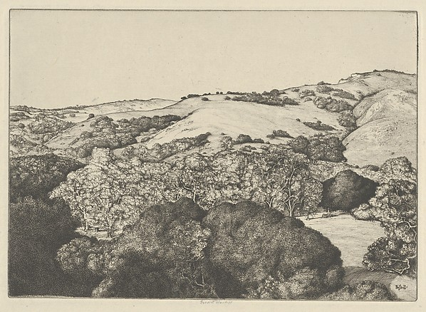 Golden Arcana, Ernest Haskell (American, Woodstock, Connecticut 1876–1925 West Point, Maine), Etching and engraving