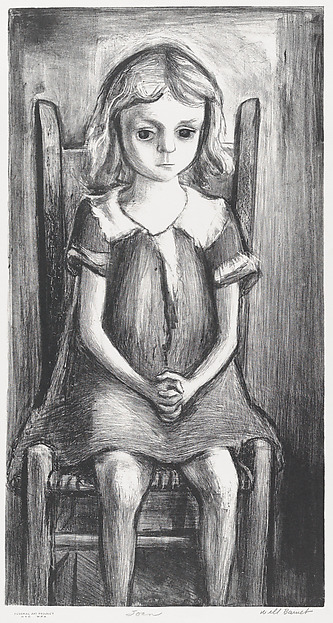 Joan, Will Barnet (American, Beverly, Massachusetts 1911–2012 New York), Lithograph