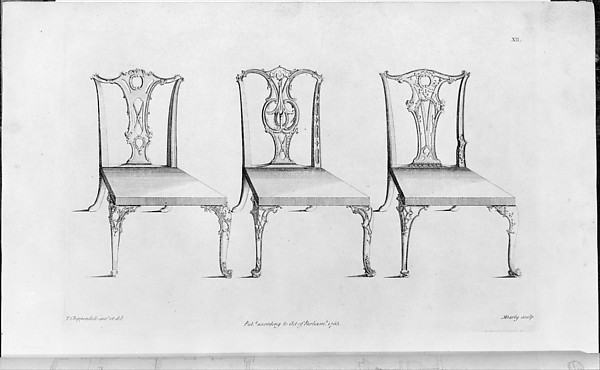 Designed, printed for, and sold by Thomas Chippendale | The ...