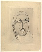 Female Head (Ideal Head), Elie Nadelman (American (born Poland), Warsaw 1882–1946 Riverdale, New York), Drypoint