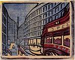 Speed, Claude Flight (British, 1881–1955), Linoleum cut