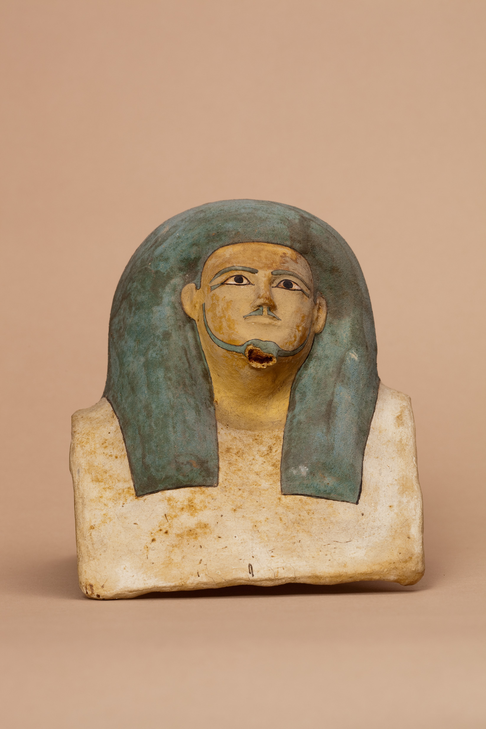 Canopic Jar Head Of Kay Middle Kingdom The Met