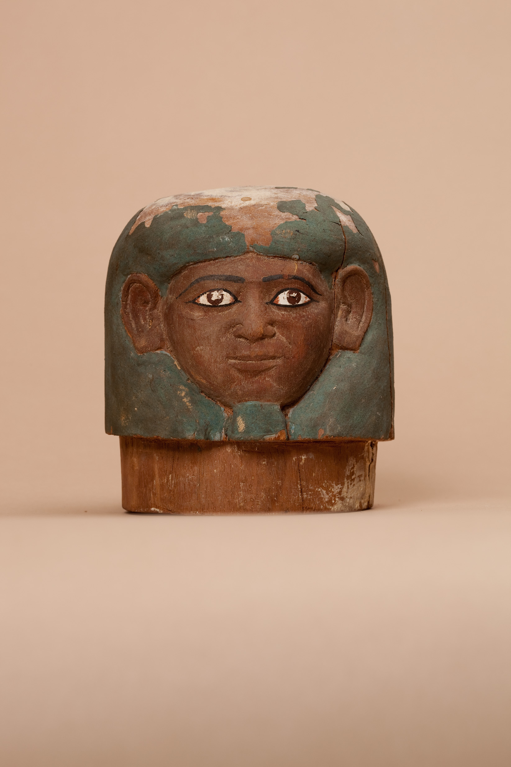Canopic Jar Lid Of Ukhhotep Middle Kingdom The Met