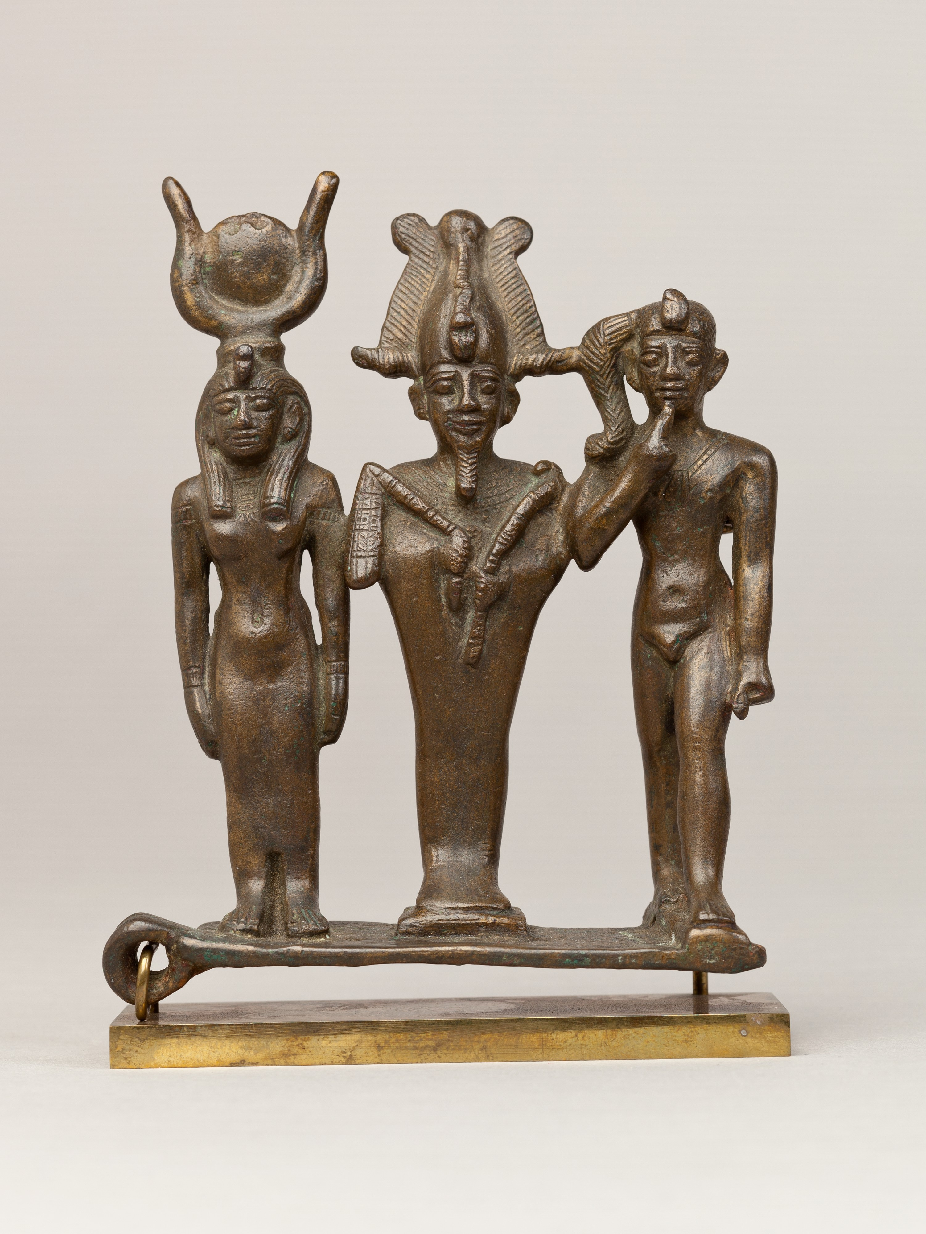 Triad of Osiris, Isis, and Horus | Late Period–Ptolemaic