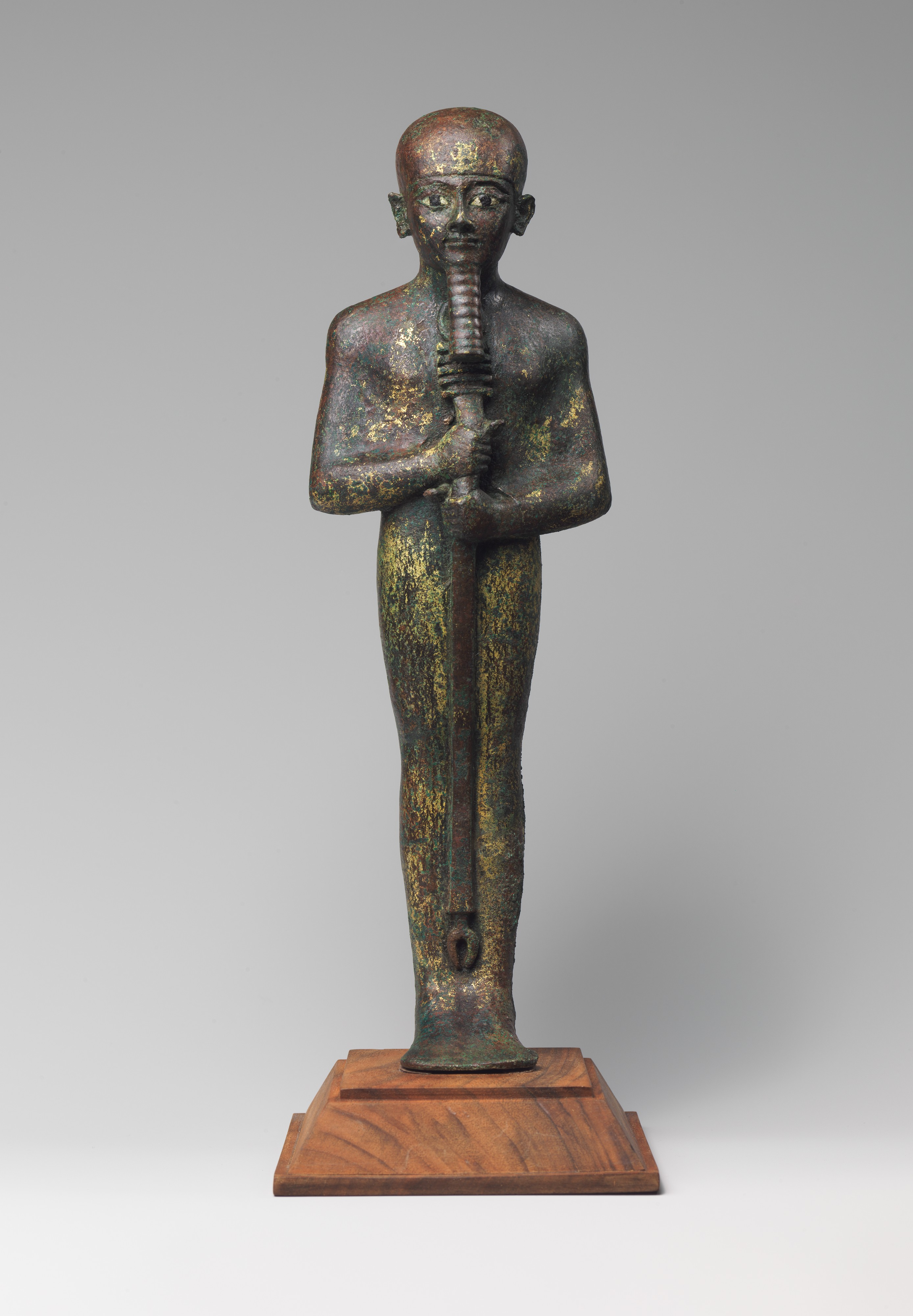 Ptah Statue Third Intermediate Period The Met