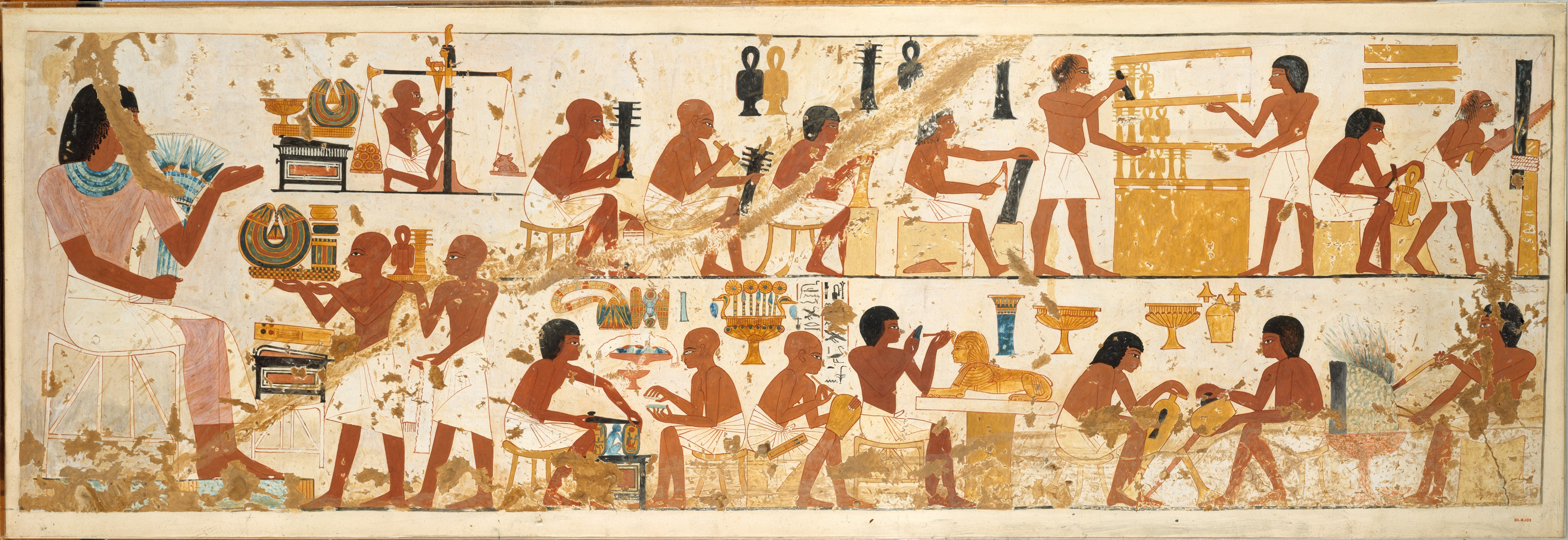 Norman De Garis Davies Craftsmen Tomb Of Nebamun And