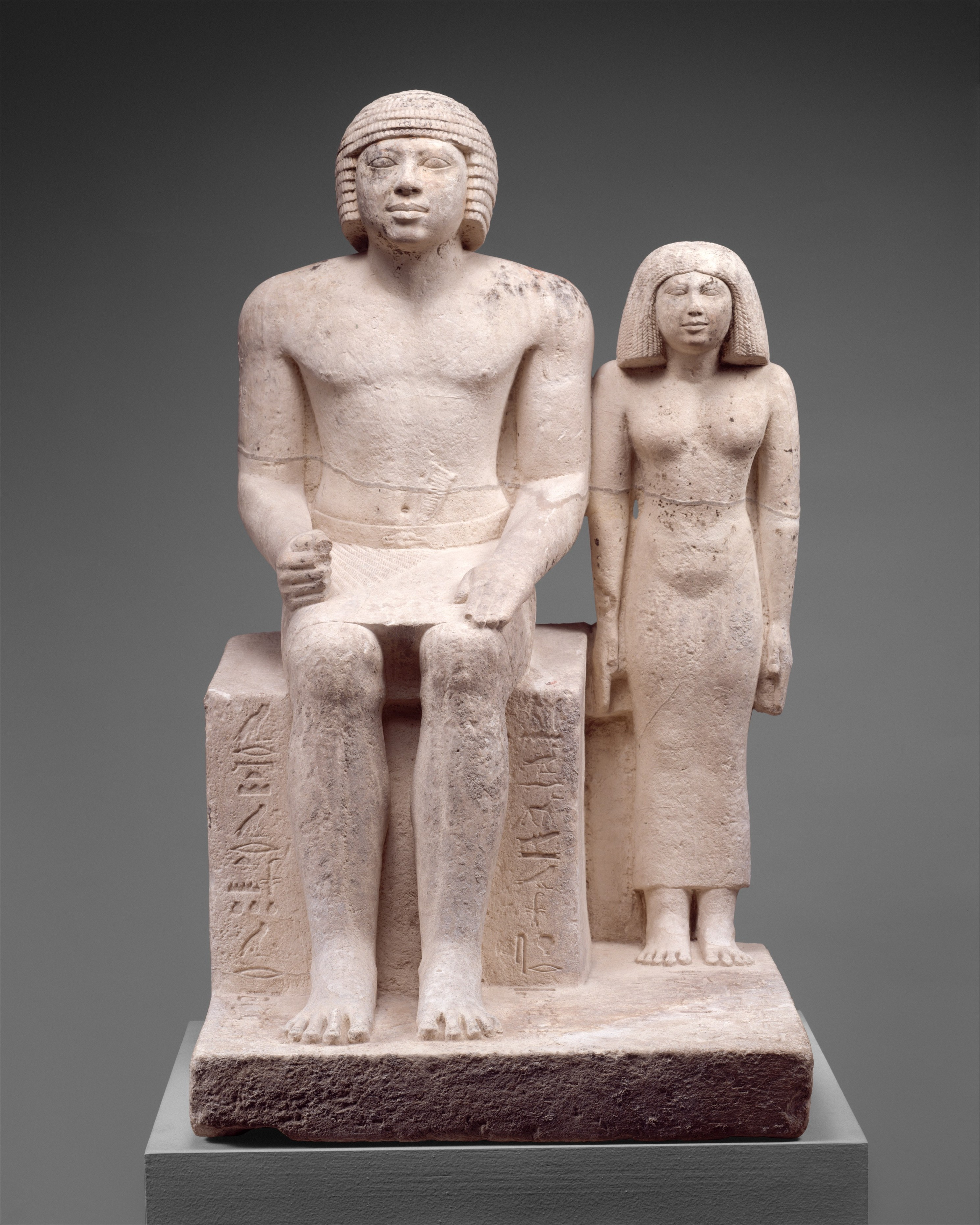 Seated Pair Statue | Egypt museum
