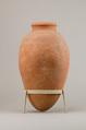 Large jar, Pottery