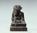 Statuette of male youth, Serpentinite