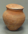 Jar with Lid, Pottery