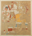 Fragment of a Threshing Scene, Winlock's Tomb 5 of the Asasif, Tempera on paper