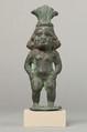 Statuette of Beset (Besis), Cupreous metal