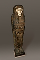 Coffin of Isetweret, Painted and gessoed wood