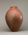Red polished ware jar, Pottery