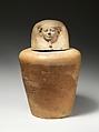 Canopic jar of Tetinakht: Imsety, Pottery, Marl A4