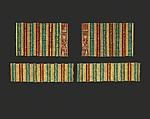 Broad Bracelet of Sithathoryunet, Gold, carnelian, turquoise