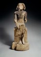 Sitting Statue of Kaemsenu (?), Wood