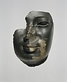 Face attributed to Ptolemy II Philadelphos or a contemporary, Greywacke