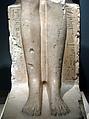 Seated Statue of Hatshepsut, Indurated limestone, paint
