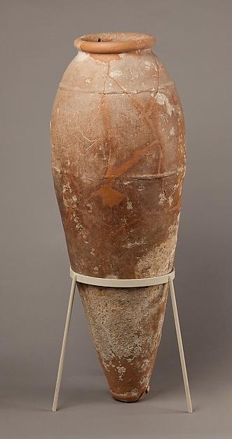 Jar, Pottery (Nile clay)