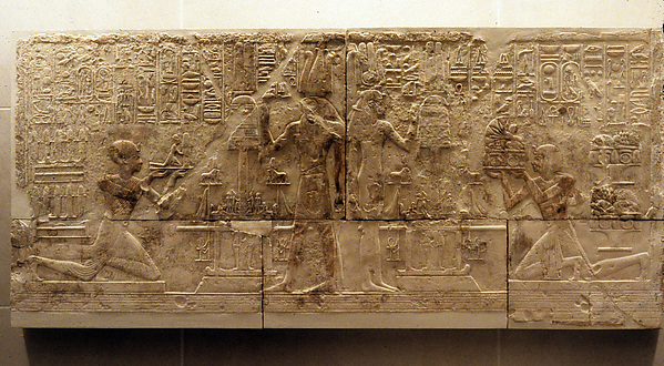 Relief from the West Wall of a Chapel of Ramesses I, Limestone