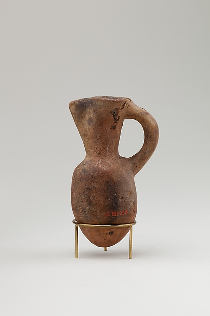 Jug, Pottery, red ware