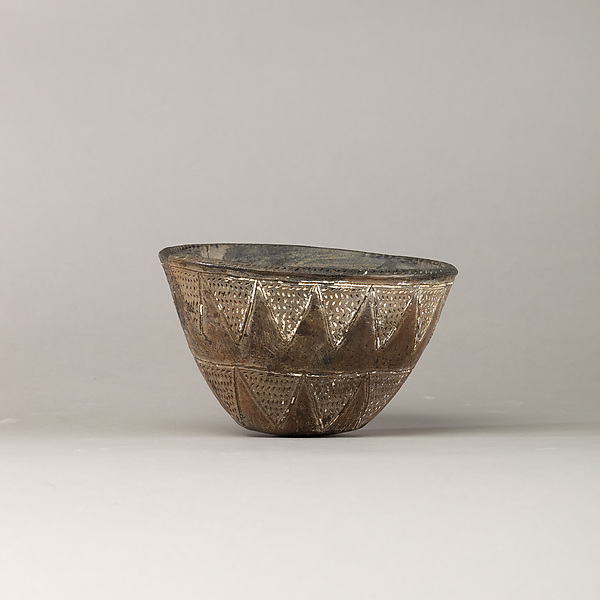 Black Incised Ware Bowl, Pottery