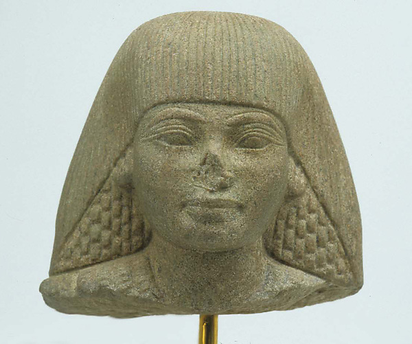 Head of an Official, Granodiorite