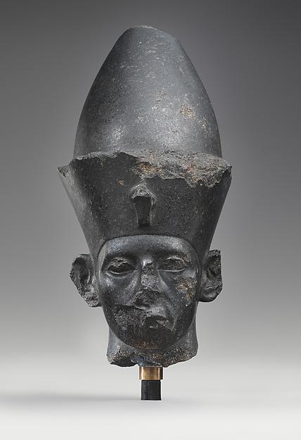 Head of King Amenemhat III, Granodiorite