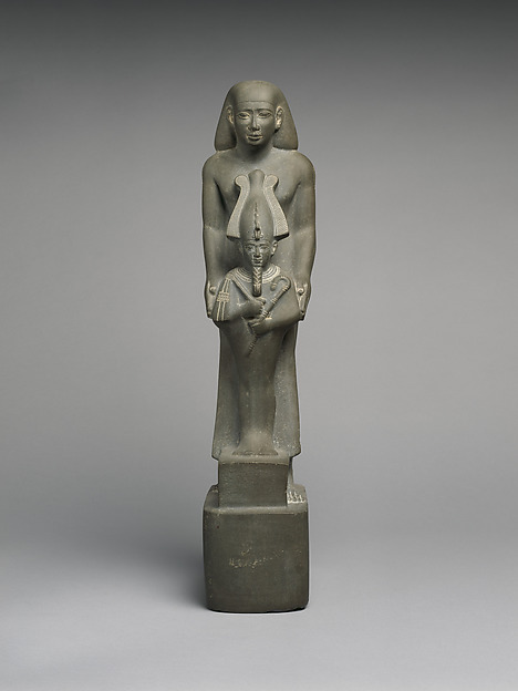 Statue of Harbes, called Psamtiknefer, son of Ptahhotep, Meta-greywacke
