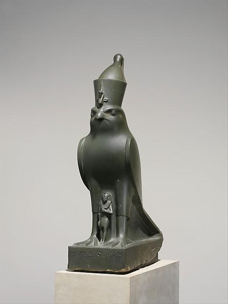 God Horus Protecting King Nectanebo II, Meta-Greywacke