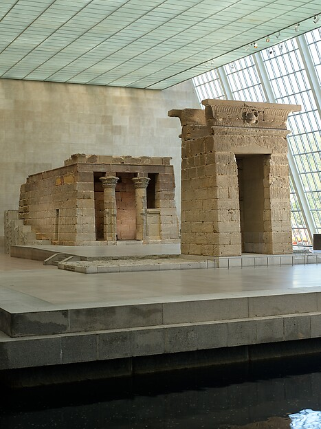 The Temple of Dendur, Aeolian sandstone