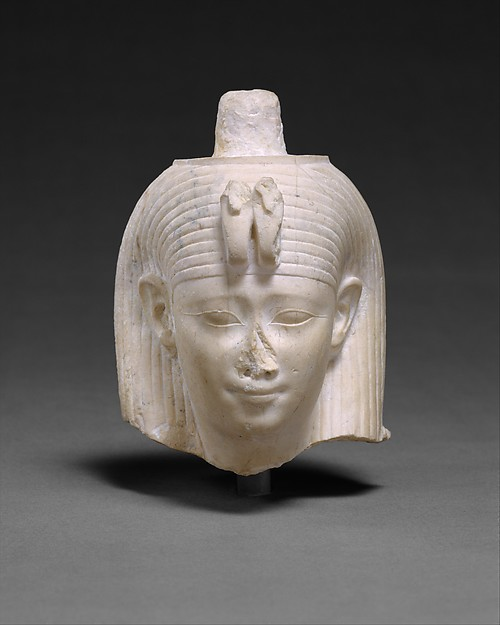 Head Attributed to Arsinoe II, Limestone (Indurated)