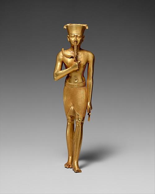 Statuette of Amun, Gold