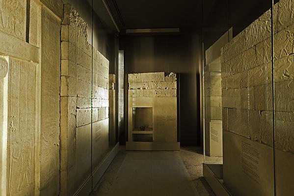 Tomb Chapel of Raemkai, Limestone, paint