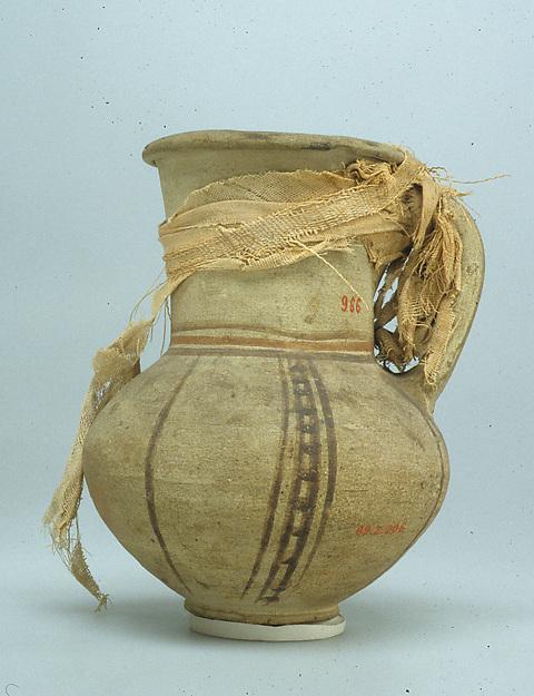 Jar, Pottery, cord
