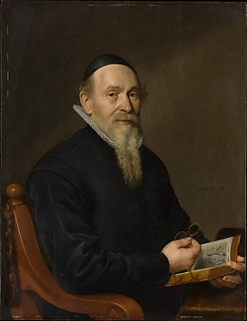 Portrait of a Man, Possibly a Botanist