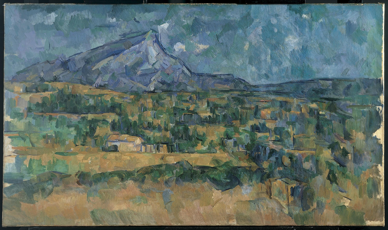 Paul Cezanne Mont Sainte Victoire The Metropolitan Museum Of Art
