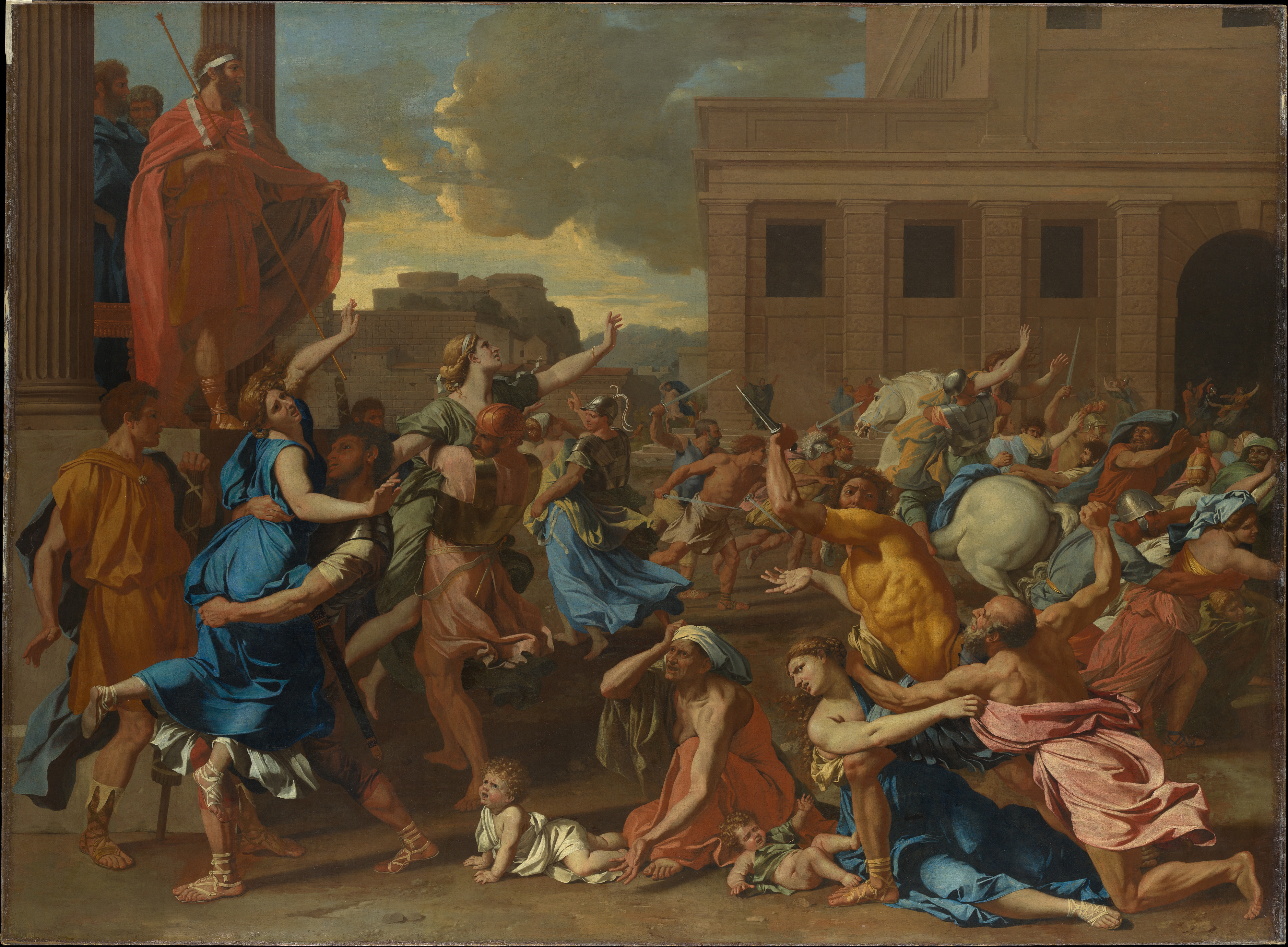 A study on nicolas poussin and the roman influences in france