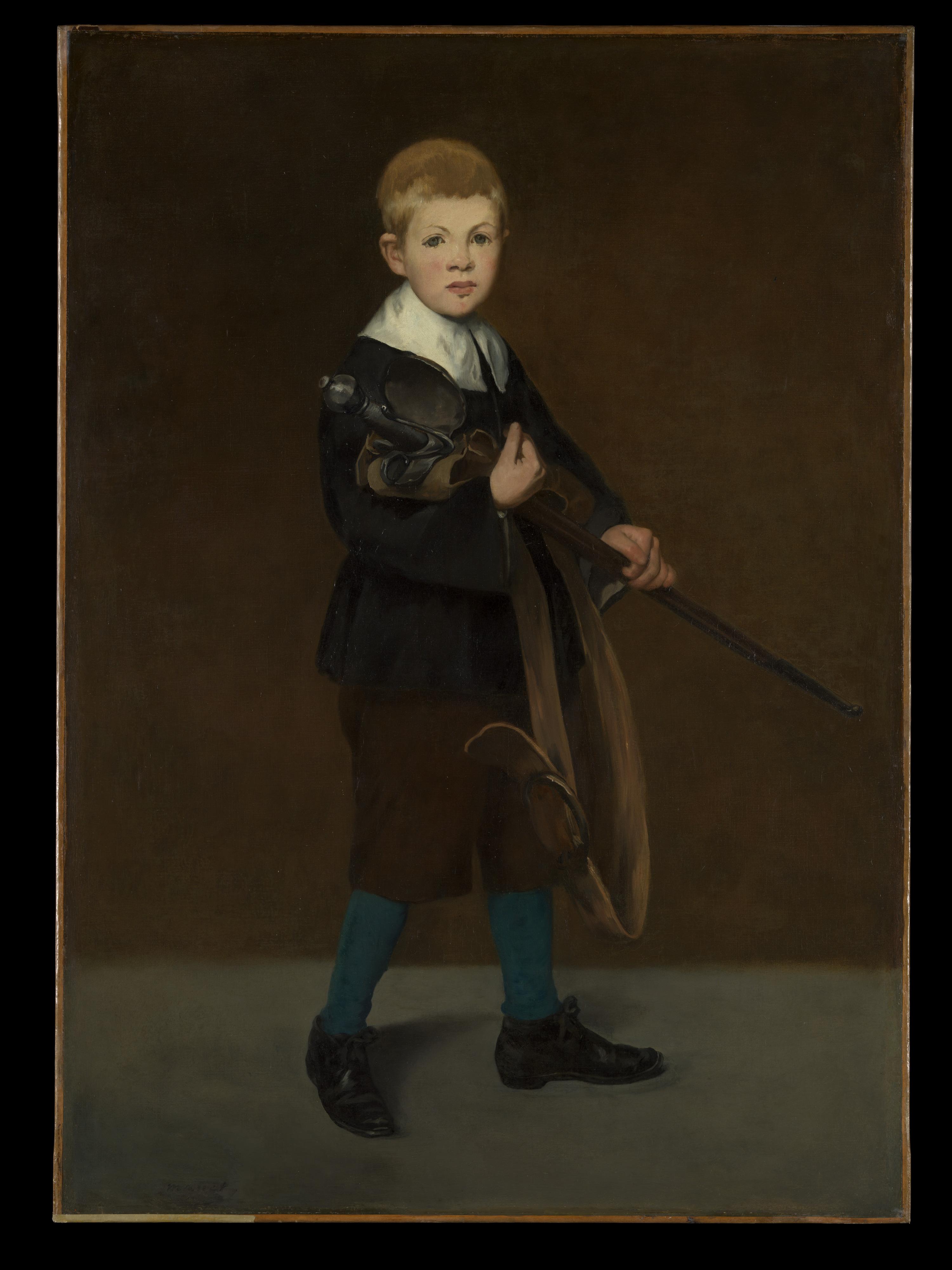 Картинки по запросу boy with a sword by edouard manet